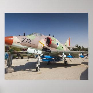 US-built A-4 Skyhawk fighter Poster
