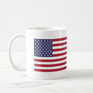 US Canada Flag Coffee Mug