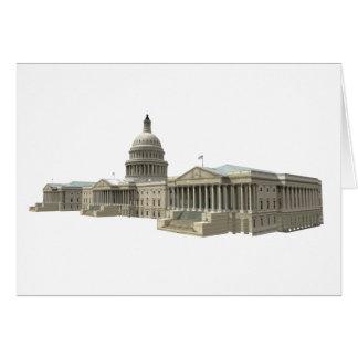 US Capital Building: Washington DC Card
