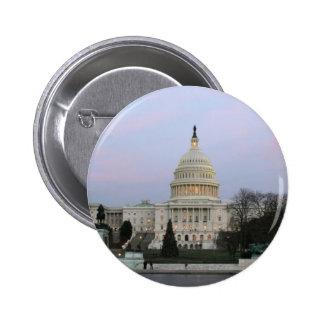 US Capitol at winter dusk Pin