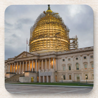 US Capitol Building at Dusk Drink Coasters