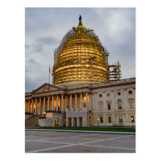 US Capitol Building at Dusk Postcard