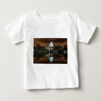 US Capitol Building at Night Baby T-Shirt