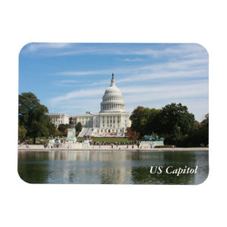 US Capitol Building Rectangular Photo Magnet
