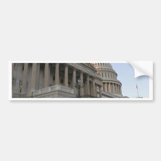 US Capitol Building Sunset Bumper Stickers