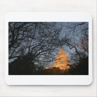 US Capitol Building Sunset Mouse Pad