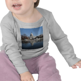 US Capitol building winter  picture Tees