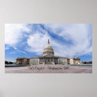 US Capitol - Washington, DC Poster