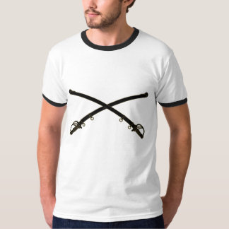 US CAVALRY CROSSED SABRES SUBDUED SPORT T-Shirt