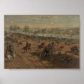 US Civil: Battle of Gettysburg Poster