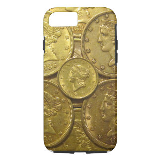 US classic gold coins phone case