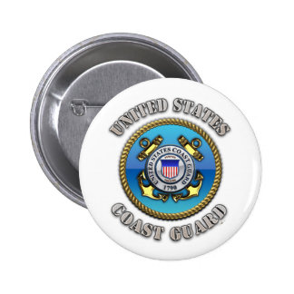 US Coast Guard 6 Cm Round Badge