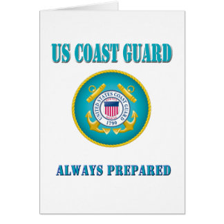 US Coast Guard Always Prepared Card