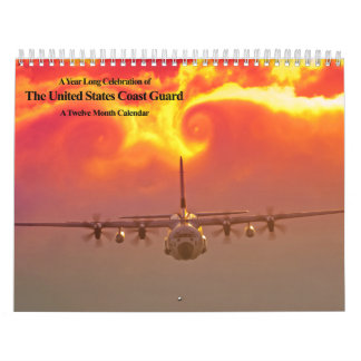 US Coast Guard Any 12 Months Calendar