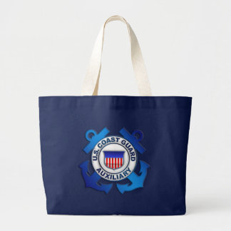 US Coast Guard Auxiliary Large Tote Bag