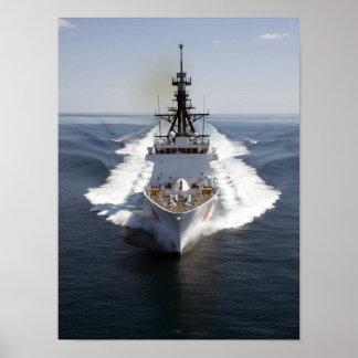 US Coast Guard Cutter Waesche Poster