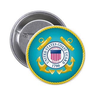 US Coast Guard Emblem Button