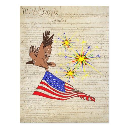 US Constitution Postcards