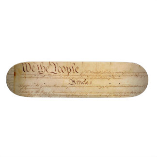 US CONSTITUTION SKATE DECK