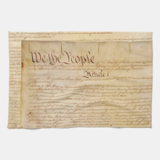US CONSTITUTION TEA TOWEL