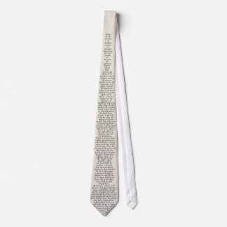 US Declaration of Independence Tie