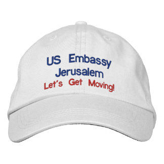 US Embassy Jerusalem Hat