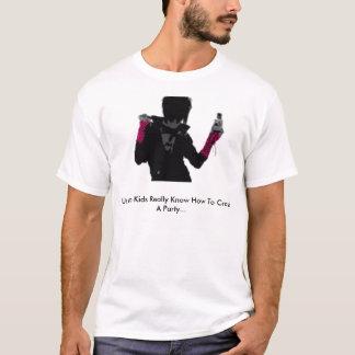 Us Emo Kids Really Know How To Crash A Pa... T-Shirt