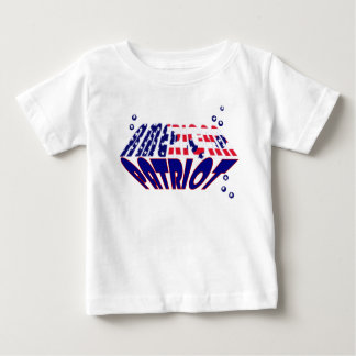 US Flag American Patriot kids Tee Shirt