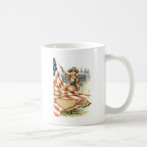 US Flag Army Child Uniform Mugs