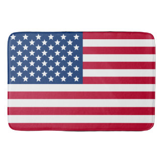 US Flag Bath Mats