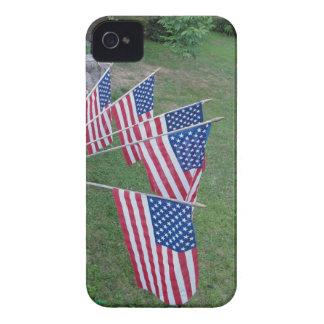 US Flag Blackberry Bold case
