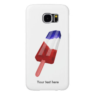 US Flag Colored Popsicle Water Color Samsung Galaxy S6 Cases