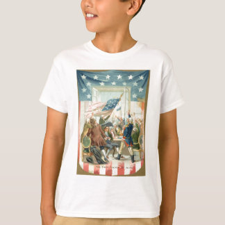 US Flag Congress First 4th of July T-Shirt