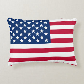 US Flag Decorative Cushion