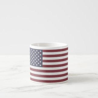 US Flag Espresso Cup