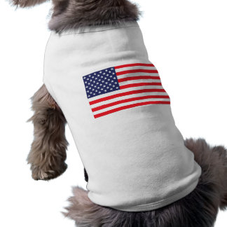 US Flag for Dogs Shirt