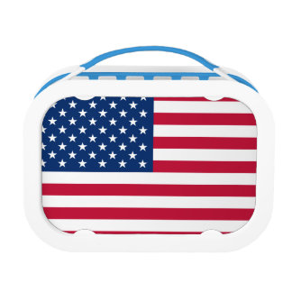 US Flag Lunch Box