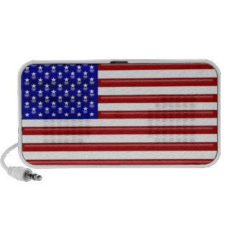 US flag relief speaker