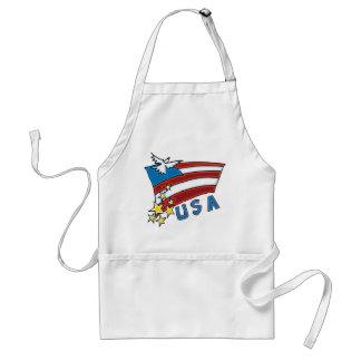 US Flag Standard Apron