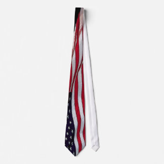 US Flag Stars & Stripes NeckTie