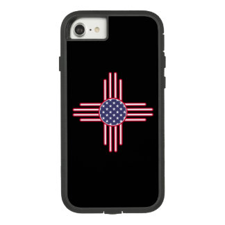 US Flag - The Zia Sun Symbol - American Sun. Case-Mate Tough Extreme iPhone 8/7 Case