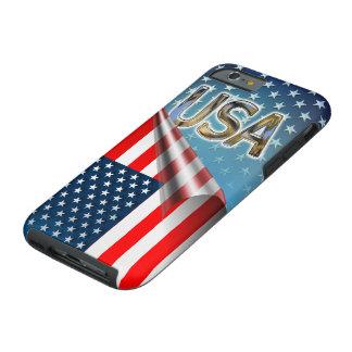 US Flag Tough iPhone 6 Case