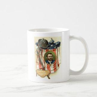 US Flag Ulysses S Grant Sword Cavalry Coffee Mug