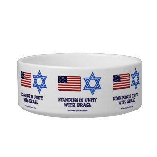 US Flag Unity with Israel Bowl