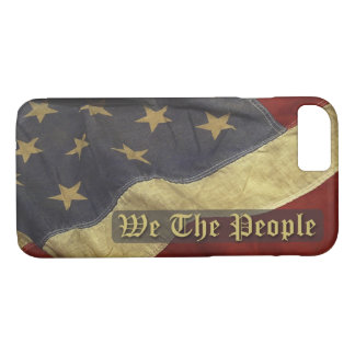 US Flag, We the People iPhone 7 case