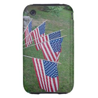 US Flags iPhone 3G/3GS Case-Mate Tough case