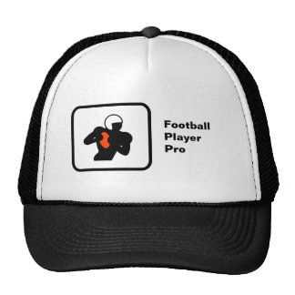 (US) Football Player Pro Mesh Hats