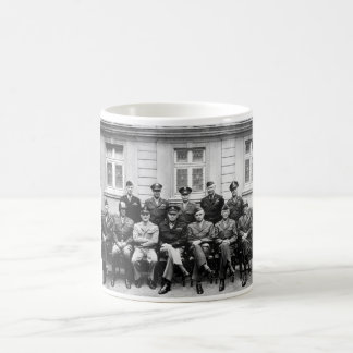 US Generals WWII -- Ike, Patton, Bradley Coffee Mug