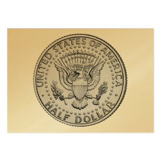 US Great Seal Half Dollar Pack Of Chubby Business Cards
