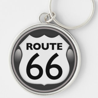 US Historic Route 66 Key Chain